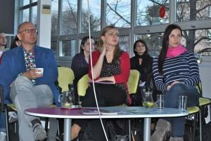 Seminář Založení a provoz občanského sdružení / Diskutující hosté z Čistého nebe, Ekologického právního servisu a Arniky